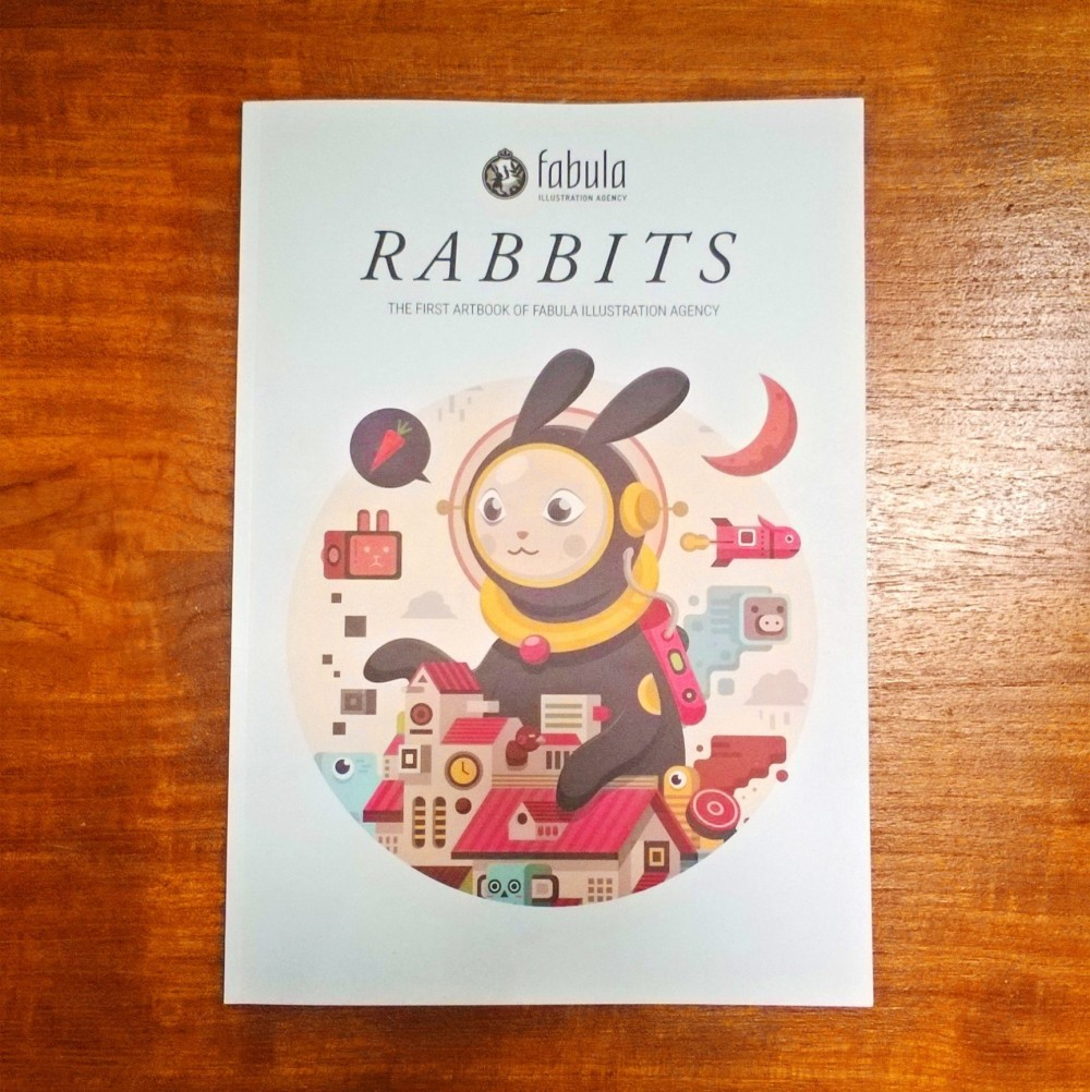 Fabula Art Book - Rabbits Cover